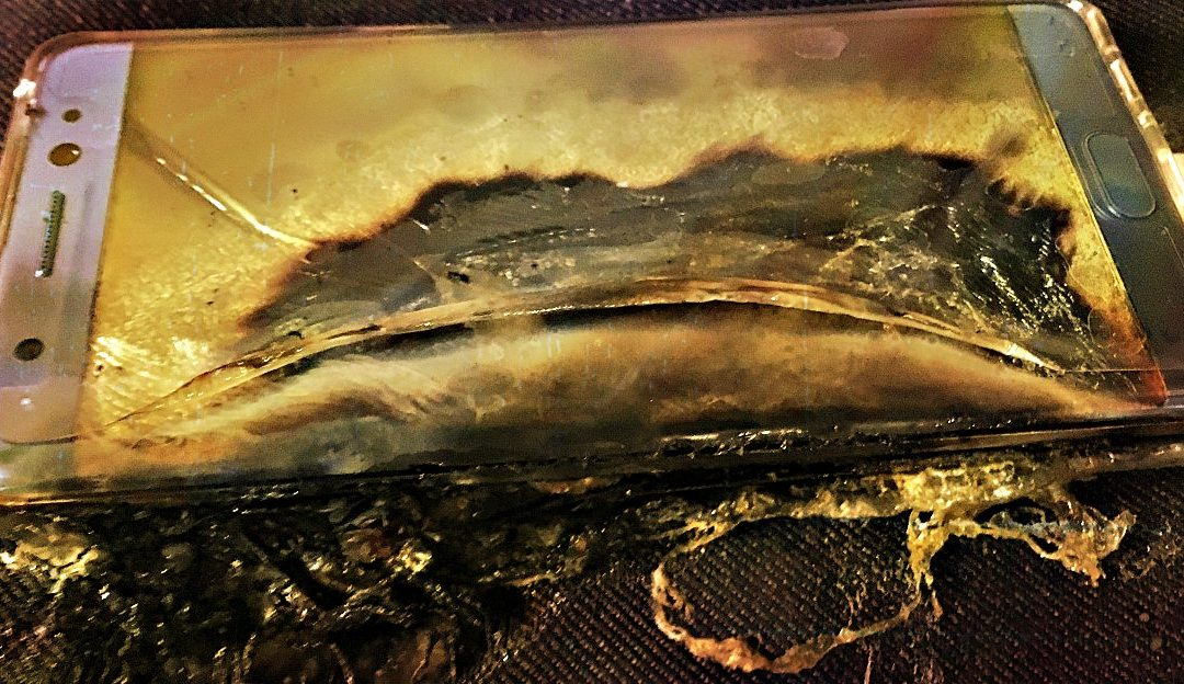 Galaxy Note 7 Poses Danger